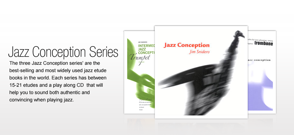Jazz Conception Books